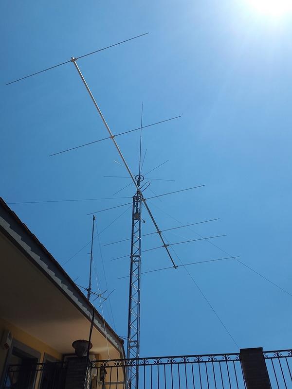 Antenna 6 el. Yagi 27Y6L Long Boom SmarTech